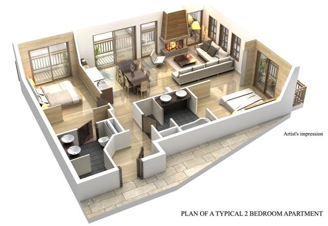 Apartments-Plan2Bed