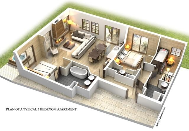 Apartments-Plan3Bed