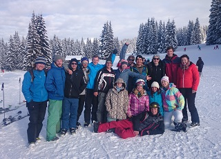 Team Ski Day, Les Gets